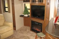 Summer Home living room TV center