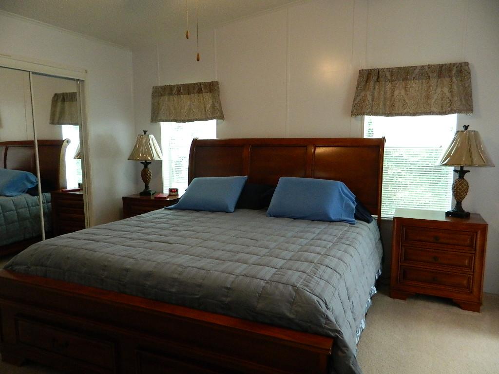 Winter Home Master Bedroom