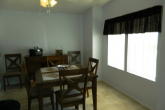 Winter Home Dining Room