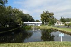 Winter Home Retention Pond