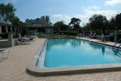 Winter Home Community Pool